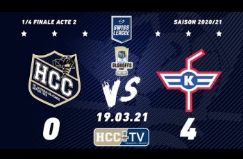 Embedded thumbnail for HC La Chaux-de-Fonds – EHC Kloten (0-4)