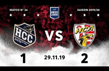 Embedded thumbnail for 2019 HC La Chaux-de-Fonds – HC Ajoie (1-2)