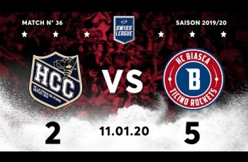 Embedded thumbnail for HC La Chaux-de-Fonds – HC Biasca Ticino Rockets (2-5)