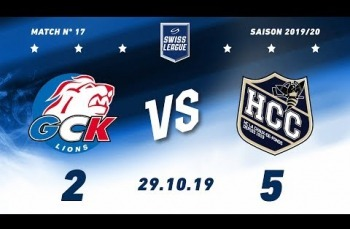 Embedded thumbnail for GCK Lions - HC La Chaux-de-Fonds  (2-5)