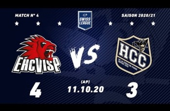 Embedded thumbnail for EHC Viège - HC La Chaux-de-Fonds (4-3) AP