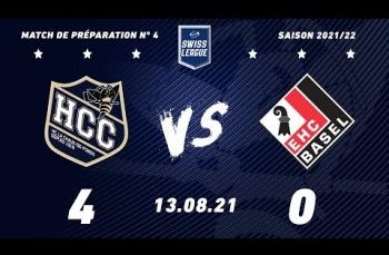 Embedded thumbnail for HC La Chaux-de-Fonds – EHC Bâle (4-0)