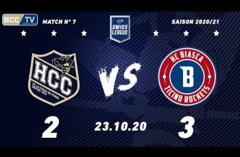Embedded thumbnail for HC La Chaux-de-Fonds – HCB Ticino Rockets (2-3)