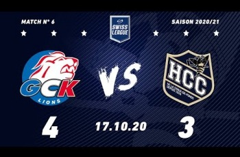 Embedded thumbnail for GCK Lions - HC La Chaux-de-Fonds (4-3)