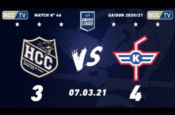 Embedded thumbnail for HC La Chaux-de-Fonds – HC Kloten (3-4)