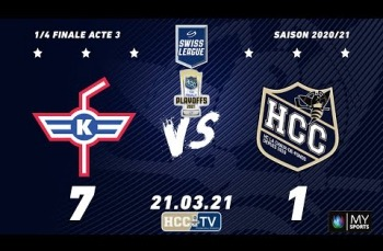 Embedded thumbnail for EHC Kloten - HC La Chaux-de-Fonds (7-1)