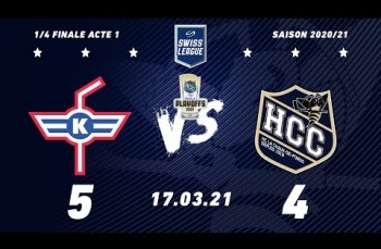 Embedded thumbnail for EHC Kloten - HC La Chaux-de-Fonds (5-4)