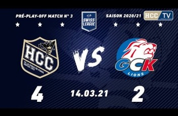 Embedded thumbnail for HC La Chaux-de-Fonds – GCK Lions (4-2)