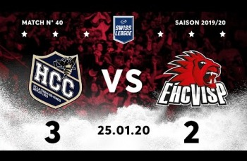 Embedded thumbnail for HC La Chaux-de-Fonds – EHC Viège (3-2)