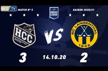 Embedded thumbnail for HC La Chaux-de-Fonds – SC Langenthal (3-2)