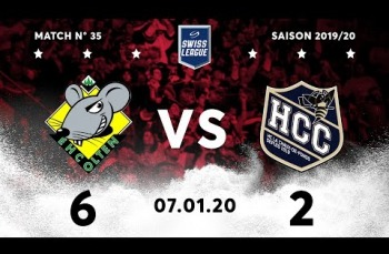 Embedded thumbnail for EHC Olten - HC La Chaux-de-Fonds (6-2)