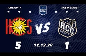 Embedded thumbnail for HC Sierre - HC La Chaux-de-Fonds (5-1)