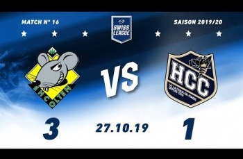 Embedded thumbnail for EHC Olten - HC La Chaux-de-Fonds (3-1)