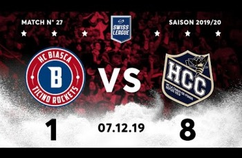 Embedded thumbnail for HC Biasca Ticino Rockets - HC La Chaux-de-Fonds (1-8)