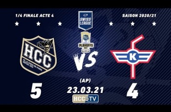 Embedded thumbnail for HC La Chaux-de-Fonds – EHC Kloten (5-4) AP