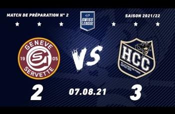Embedded thumbnail for Genève Servette HC - HC La Chaux-de-Fonds (2-3)