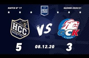 Embedded thumbnail for HC La Chaux-de-Fonds – GCK Lions (5-3)