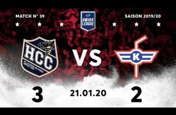 Embedded thumbnail for HC La Chaux-de-Fonds – EHC Kloten (3-2)
