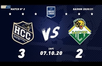 Embedded thumbnail for HC La Chaux-de-Fonds – HC Thurgau (3-2) AP