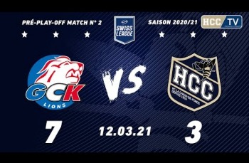 Embedded thumbnail for GCK Lions - HC La Chaux-de-Fonds (7-3)