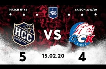 Embedded thumbnail for HC La Chaux-de-Fonds – GCK Lions (5-4)
