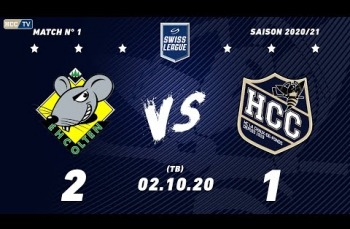 Embedded thumbnail for EHC Olten - HC La Chaux-de-Fonds (2-1) TB