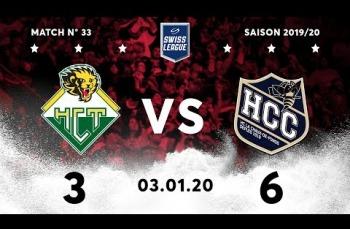 Embedded thumbnail for HC Thurgau - HC La Chaux-de-Fonds (3-6)