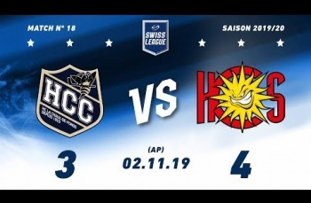 Embedded thumbnail for HC La Chaux-de-Fonds – HC Sierre (3-4) AP
